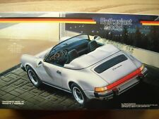 "Fujimi ""Enthusiast Model"" Kit 1:24 Scale Porsche 911 Carrera Speedster - New"