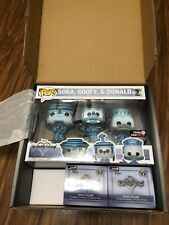 Funko Pop Disney Kingdom Hearts Sora, Goofy & Donald 3 Pack Gamestop Mystery Box