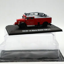 Atlas 1/72 RKW 10 Metz MAN 758 L1 Fire Engine Diecast Models Edition Collection