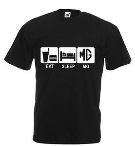 Eat Sleep MG MGTF MGZT MGZS MGBGT MGF British Car UK Seller Xmas Dad Gift