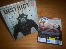 DISTRICT 9 HMV GB Blu-ray steelbook rare PROGRAMMATION ORIENTÉE OBJET all