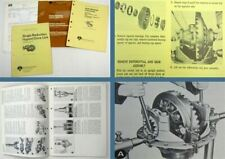 Rockwell International Single Reduction Hypoid Drive Unit Maintenance Manual