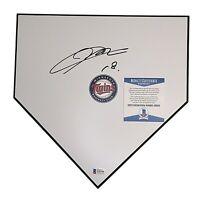Kenta Maeda Twins Signed Baseball Home Plate Base Beckett BAS Cert Autograph COA