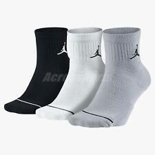 Nike Unisex Jordan Jumpman Quarter Basketball 3 Pairs 1 Pack Socks SX5544-017