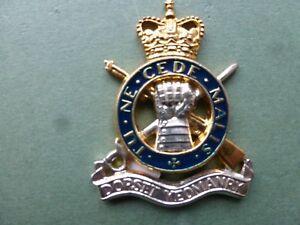 Dorset Yeomanry in gold, silver plate & enamel