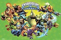 SKYLANDERS SWAP FORCE ~ HOOT LOOP /& FRIENDS 22x34 VIDEO GAME POSTER NEW//ROLLED!