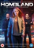 Homeland: The Complete Season 6 (2017) DVD Boxset Sixth Series New & Sealed