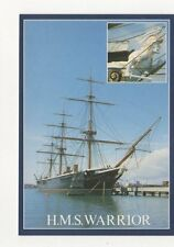 HMS Warrior Portsmouth Postcard 902a