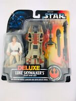 Star Wars Deluxe Luke Skywalker's Desert Sport Skiff Rebel Alliance Kenner