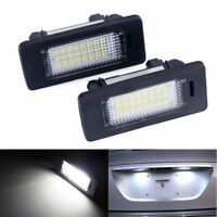 LED License Number Plate Light Lamp For BMW 3 5 Series E39 E60 E61 E90 E92 White