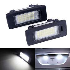 1 Paar LED Lizenz Nummer Platte Licht für BMW 3 5 Serie E39 E60 E61 E90 E92 Weiß