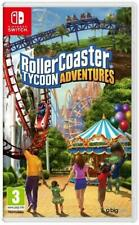 Rollercoaster Tycoon Adventures (Nintendo Switch, 2018) Brand New - Region Free
