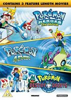 Pokemon - Triple Movie Collection [DVD][Region 2]