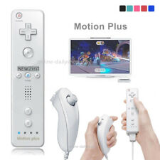 Built in Motion Plus Remote Controller Nunchuck Controller for Nintendo Wii