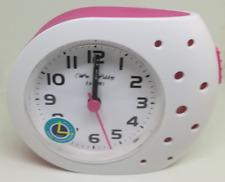 Widdop Quartz Travel Alarm Clock Quiet Movement Snooze Function LED