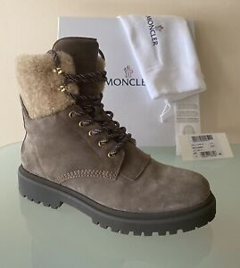 NIB Moncler Boots shearling/fur to wear w/ski jacket 41 ITALY