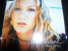 Delta Goodrem Born To Try Australian Enhanced CD Single - Like New
