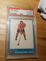 1962 Stan Makita #34 PSA authentic altered