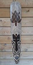 100cm Holz Maske n Lombock Inseln Schildkröte  SONDERPOSTEN !!!