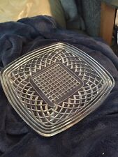 Square Pattern Serving Dish