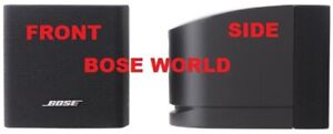 Pair 2 Black Bose FreeSpace Single Cube Like N EW Acoustimass Lifestyle Speakers