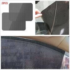 Pair 72*52cm High Quality PVC Vehicle Window Sun Shade Cover Static Cling Screen
