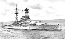 ROYAL NAVY REVENGE CLASS BATTLESHIP HMS RAMILLIES