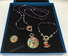 Heidi Daus Alice Through The Looking Glass Timing is Everything Parure 3 pc Set