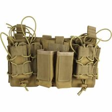 Viper Tactical Modular MOLLE Mag Rig Rifle & Pistol Magazine Pouch Set Coyote