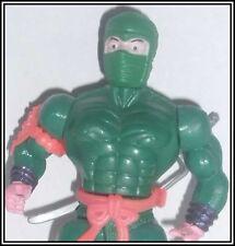 VINTAGE 90s AGGLO DRAGON NINJA - GREEN WARRIOR - MOTU KO - Commandos Super