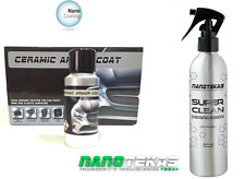 Nano Car Body Paint Protection CERAMIC ARMOR COAT and Paint Prepare Cleaner 100%