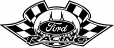 FORD RACING STICKERS Funny Car Window Ford Vinyl Sponsor Decals