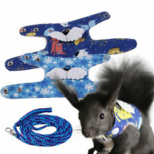 More details for small animal harness guinea pig vest clothes hamster forret rabbit lead squirrel