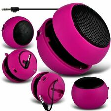 Pink Portable Capsule Rechargeable Compact Speaker For Vodafone Smart First 6