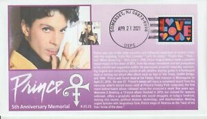 6° Cachets Prince 5th Anniversary Memorial 2016-2021