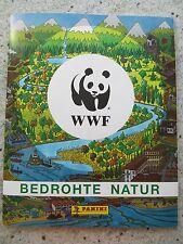 WWF Bedrohte Natur KOMPLETTES Panini Sticker Album incl. Bestellschein