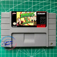 Zombies Ate My Neighbors ☠ -SNES Video Game USA version FREE SHIPPING