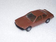 HERPA BMW 633 CSI, coupé, marron, bon état, 1:87, h0, * g 032 *