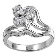 Sterling Silver Fashionable Cubic Zirconia Ring