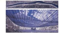 Christo over the River VIII Poster Art Print Picture 70x100 CM Free Shipping