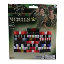 Costume Military Block Of Bar Ribbon Medals  Fake  Ribbons Medal CLOSEOUT