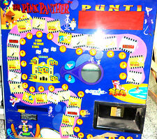 VETRO USATO PER SLOT MACHINE ANNI 80 PINK PANTHER ORIGINALE