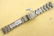 SEIKO SOLID OYSTER BRACELET 6105 8000 8110 WATCH WIDE TYPE SOLID LINKS #C00029