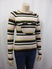 Gestreifte feine Damen-Pullover aus Kaschmir