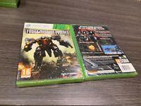 Front Mission Evolved Xbox 360 Versiegelt Neu Spanisch