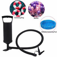 Air hammer inflation hand pump inflatable swimming pool air bed dinghy summer