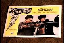 BILLION DOLLAR BRAIN 1967 LOBBY CARD #6 MICHAEL CAINE