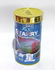 XO Starry - flowerhorn food for pearl and shine - 120 grams - USA seller