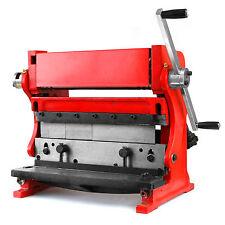 "Shear Brake Roll Combination 3 in 1 Metal Work Machine 12"" Sheet Metal Bending"
