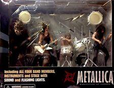 Metallica - Harvesters Of Sorrow Action Figure Box Set. RARE L@@K